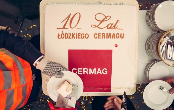 Gala 10-lecia Salonu CERMAG w Łodzi