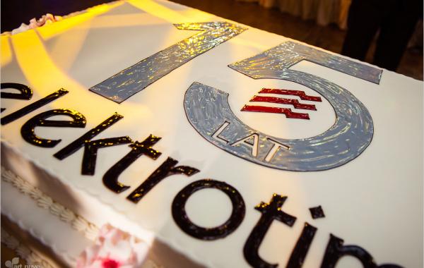 Uroczysta gala 15-lecia istnienia firmy Elektrotim