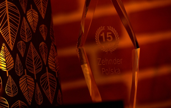 Gala Jubileuszowa 15-lecia firmy Zehnder
